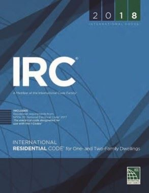 IRC 2018 Cover