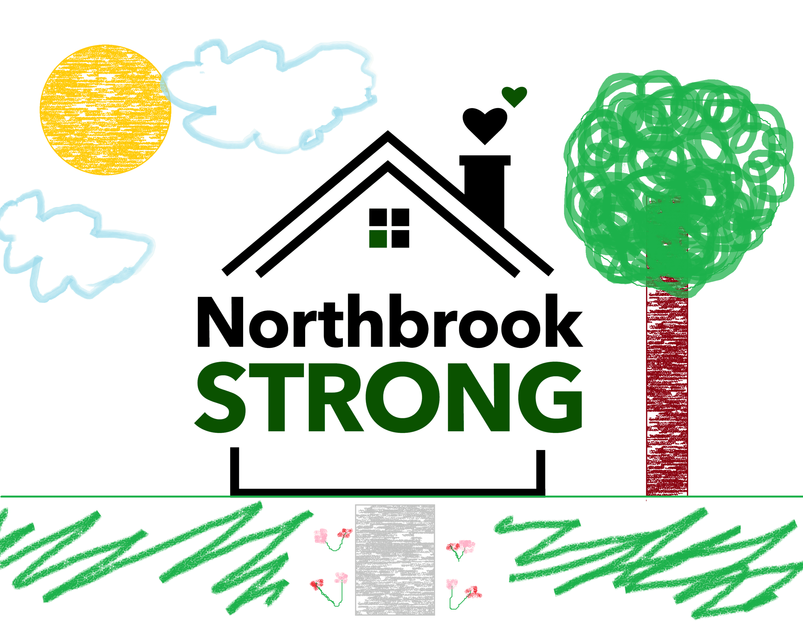 Northbrook Strong Coloring Sheet V1 EXAMPLE