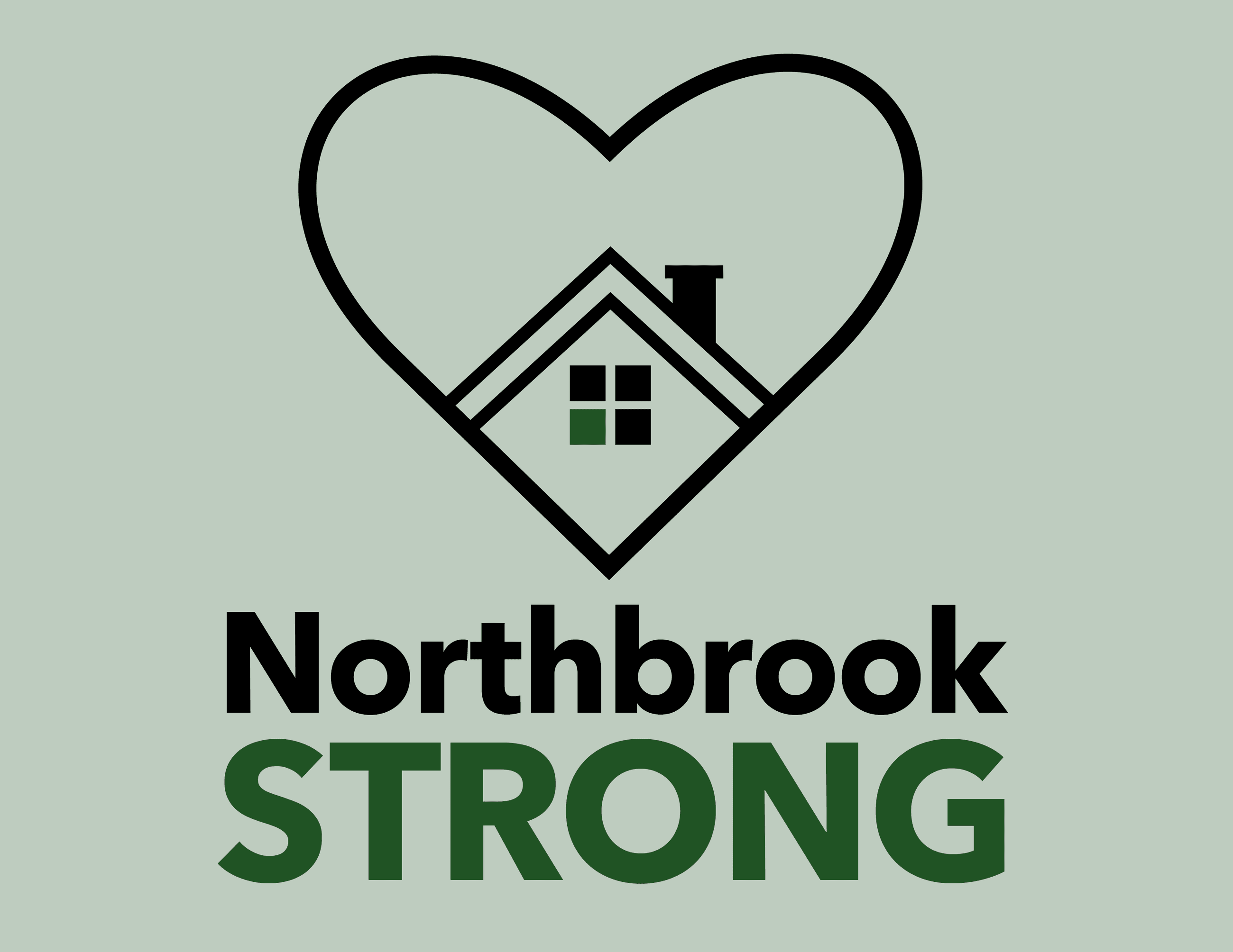 Northbrook Strong Window Sign V2